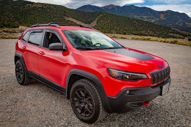 Lilred S 2019 Jeep Cherokee Trailhawk With 245 65r17 Firestone