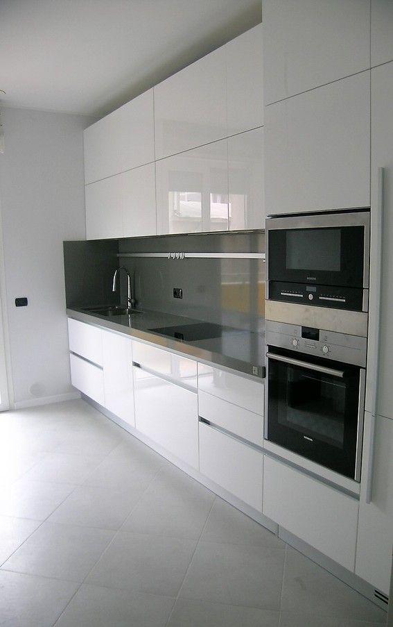 Cucine Mobili Da Cucina.Una Cucina Su Misura Cucine Bianche Moderne Progettazione