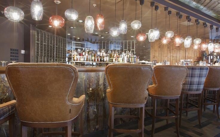 ресторан, кафе, бар: фото дизайна интерьера - автор OTTOSTELLE