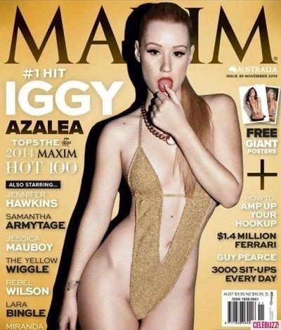 Iggy Azalea Is Really Upset About Her New Maxim Australia Swimsuit Cover