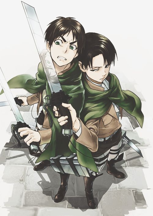 Eren & Rivaille | Shingeki no Kyojin #anime