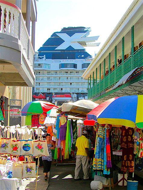 Port of Call: Roseau, #Dominica