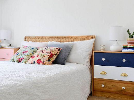 Милые прикроватные тумбочки Одной из самых важных деталей в спальне является тумбочка. Без нее, как без рук. Все самое необходимое мы хотим хранить под рукой. А их разнообразие позволит выбрать каждому под настроение и потребности.