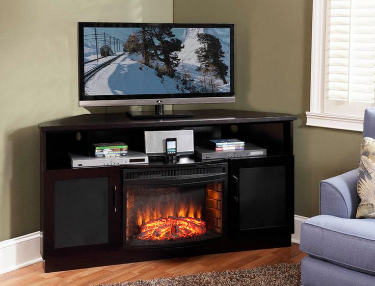 1000 ideas about corner fireplace tv stand on pinterest fireplace tv stand electric. Black Bedroom Furniture Sets. Home Design Ideas