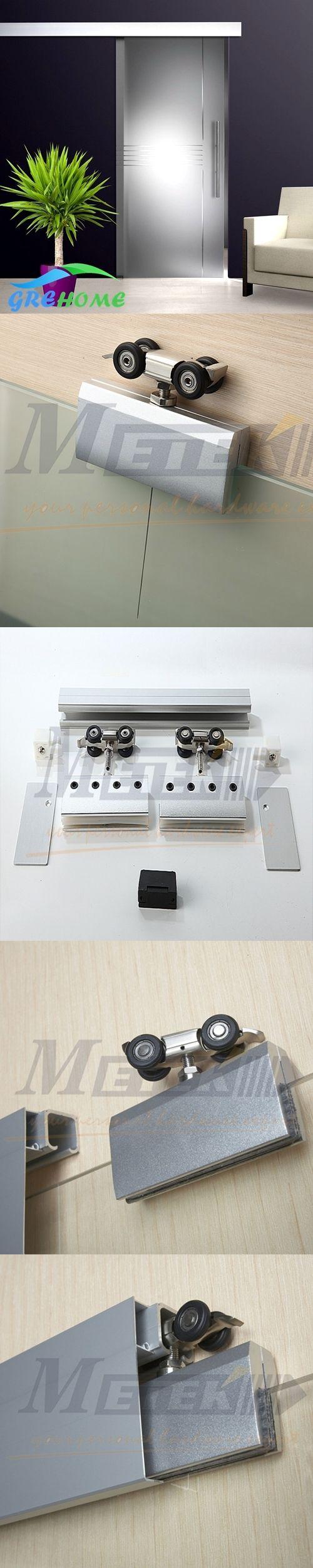 Aluminium alloy frameless glass sliding door roller kit