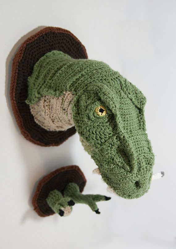 Brother: Faux Taxidermy T-Rex by MugwumpMade on Etsy