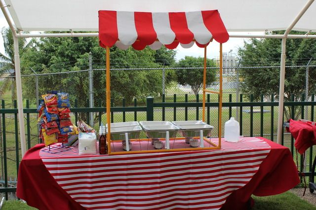 17 best images about carnival ideas on pinterest carnival games school carnival and carnival - Food booth ideas ...