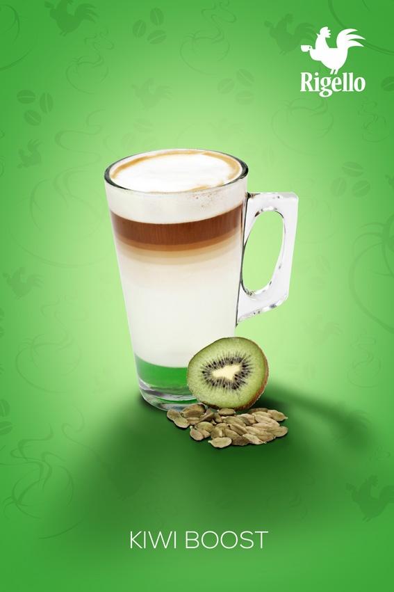 Fusion Line: #Kiwi Boost #Coffee by #Rigello