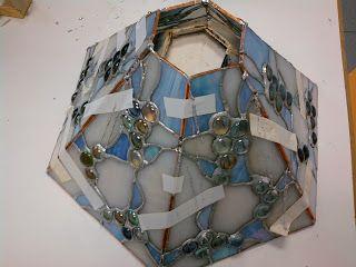 artipachi: Proyecto acabado de lámpara hexagonal