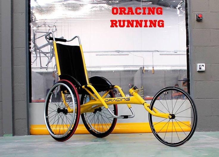 Oracing Running (Marathon duwrolstoel, Passive Marathon Wheelchair)
