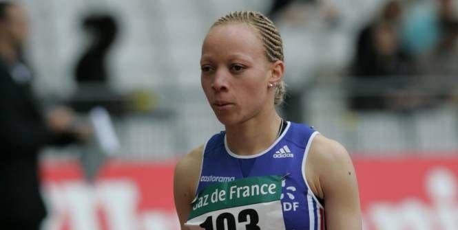 Nantenin Keita de nouveau championne du monde après un doublé 200 m / 400 m en 2006. (Archives L'Equipe)