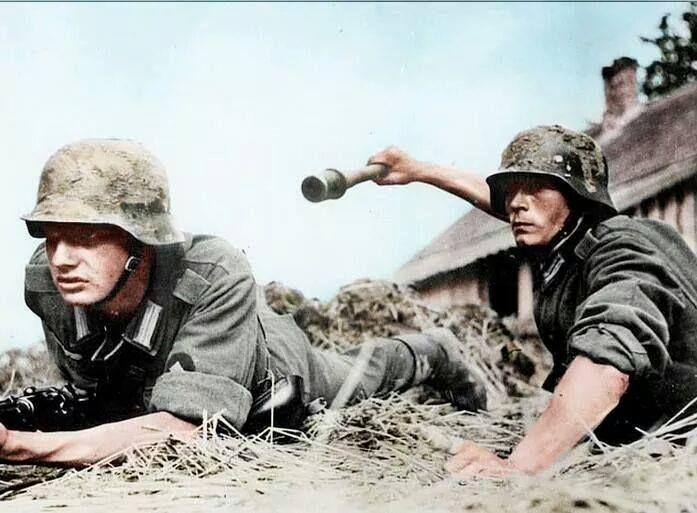 Wehrmachts soldaten Operation Barbarossa 1941.