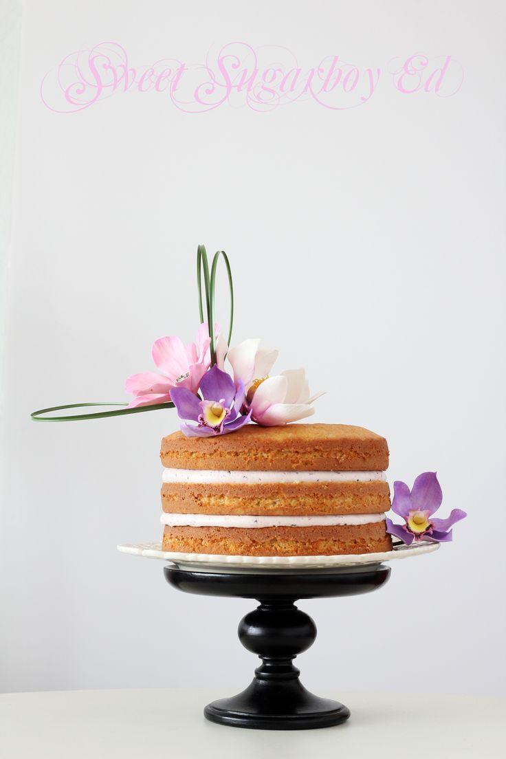 Ikebana Inspired Cake 2014