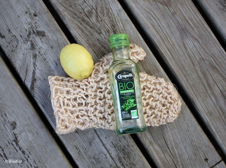 Gommage, exfoliant, gant de crin #gantdecrin #veritablegantdecrin