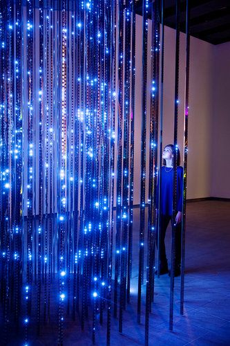 Pieces Of Light Art That Boggle Your Senses | Co.Design: #innovation #design. Could be great for a children's wing.