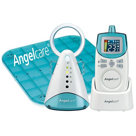 The main selling point is an alarm which will sound if it detects no movement (i.e. breathing) for 20 seconds. It's brilliant for peace of mind. Warning: mixed reviews! Buy Angelcare Movement and Sound Monitor AC401 Online at johnlewis.com