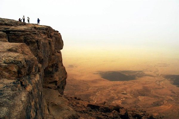 Makhtesh Ramon: Located at the peak of Mount Negev, Makhtesh Ramon is the world's largest makhtesh (box canyon), and it is known as the Grand Canyon of Israel.