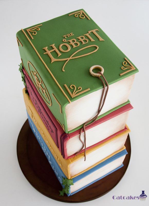 open book cake instructions