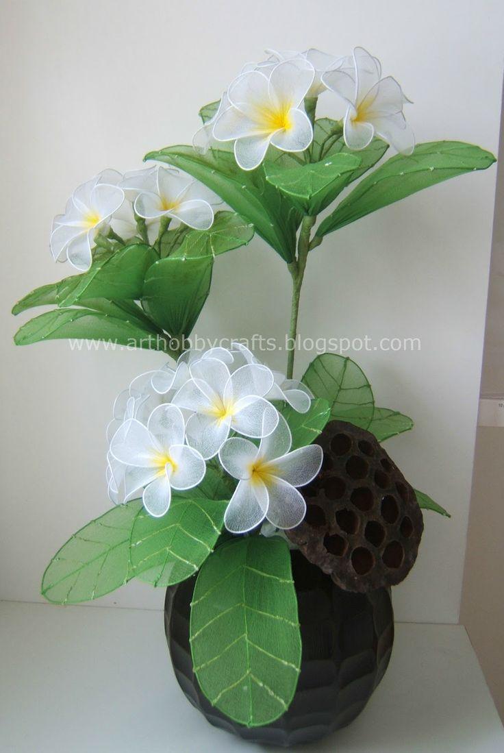 Stocking flowers - Plumeria