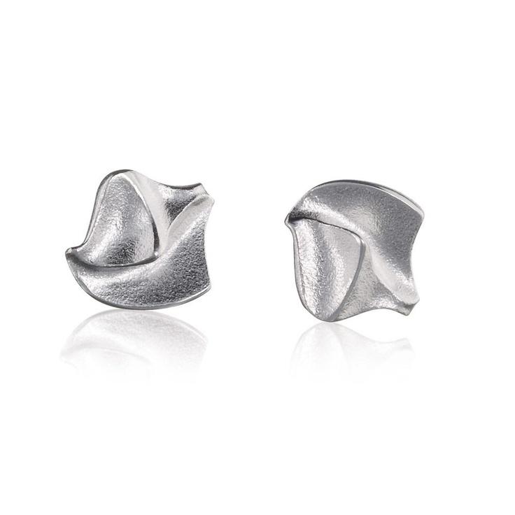 FYLGIA  Design Björn Weckström / Silver Earrings / Lapponia Jewelry / Handmade in Helsinki