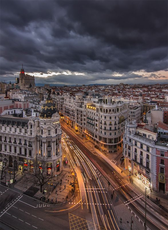 Madrid´s Heaven by Darío Sastre on 500px