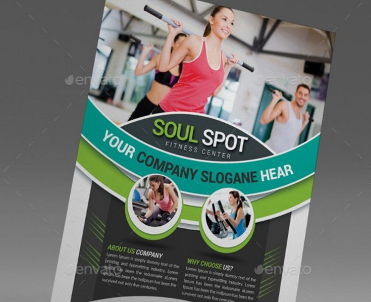 41 best 2017 Flyer images on Pinterest Flyers, Fitness flyer and - fitness flyer template