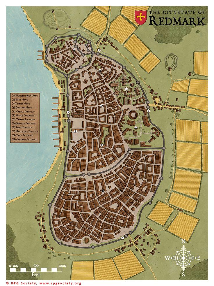 redmark fantasy map medieval maps sapiento town citystate area rpg deviantart cartography redwall cartographer artist freelance commissions rhune torstan fiction