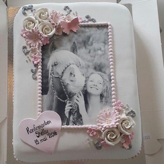 Konfirmasjonskake , cake, kake
