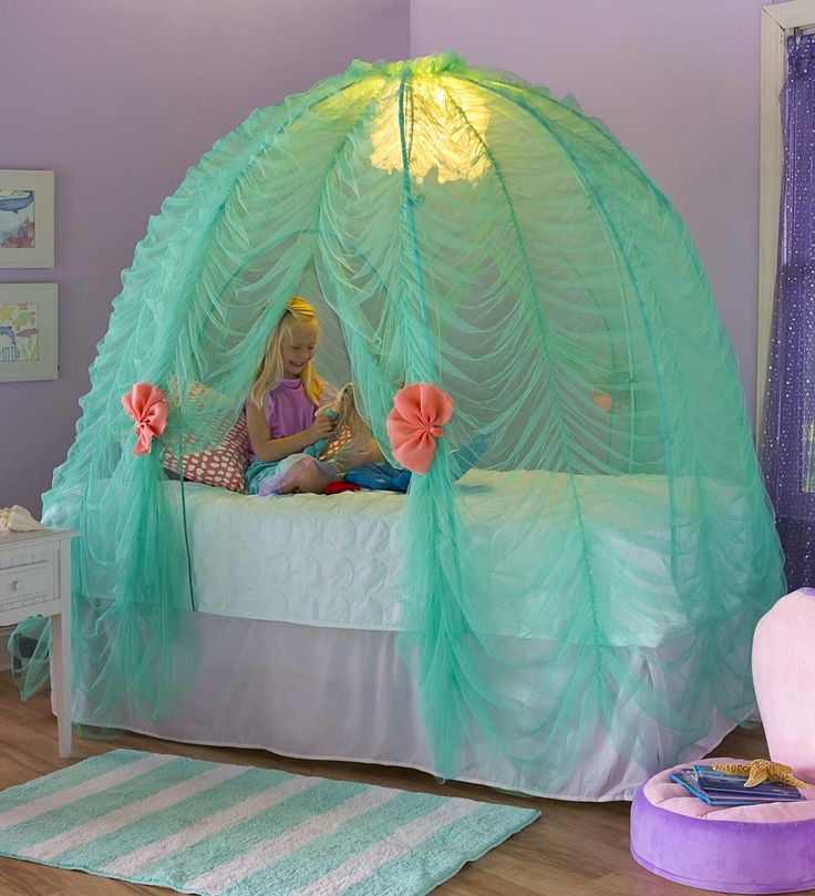 Light-Up Under-the-Sea Bed Tent | Magic CabinVerified ReplyVerified BuyerVerified Buyer