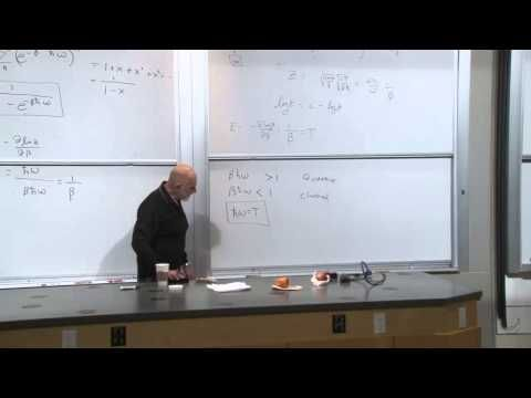 Statistical Mechanics Lecture 7 - YouTube