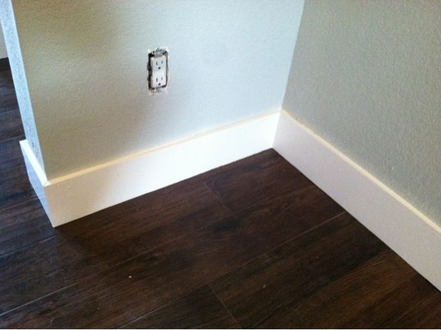 Definitely doing these baseboards in the basement!