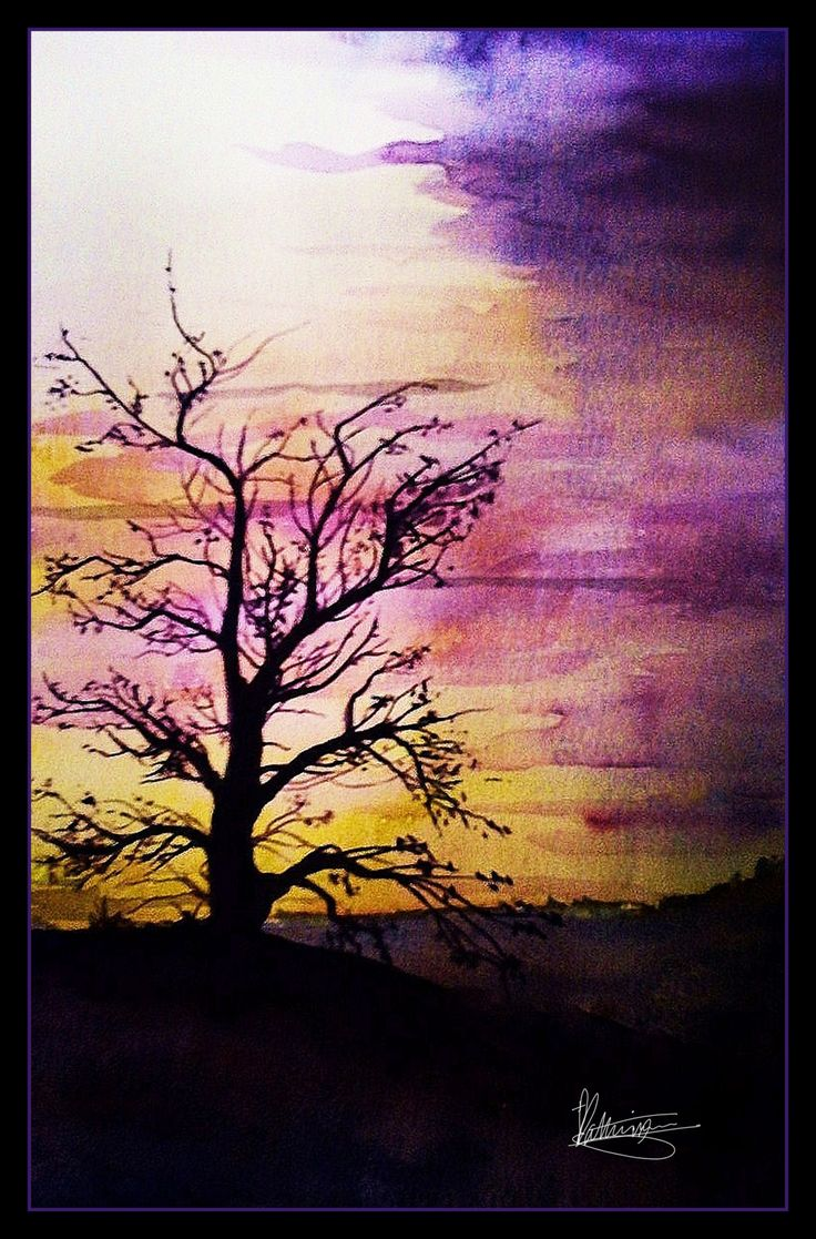Nature Paintings For Beginners - HD Photos Gallery | paint ...