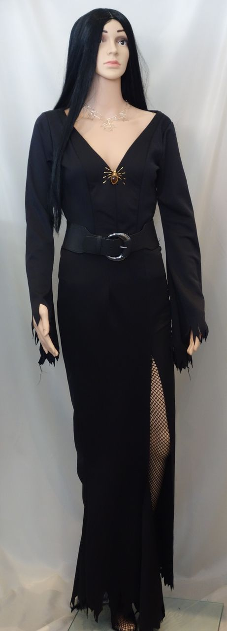Morticia or Elvira Costume to Hire - The Littlest Costume Shop