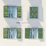 Co.Bu. Le persiane verdi per città bucoliche. Garden windows