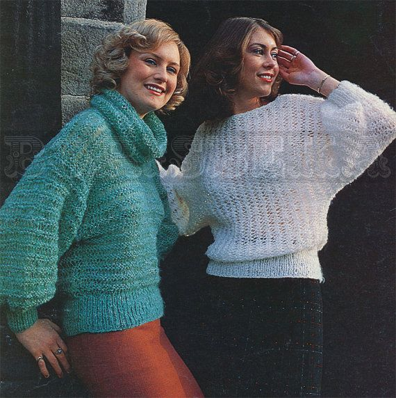 Hey, I found this really awesome Etsy listing at https://www.etsy.com/listing/155449020/vintage-sweaters-knitting-pattern-80s