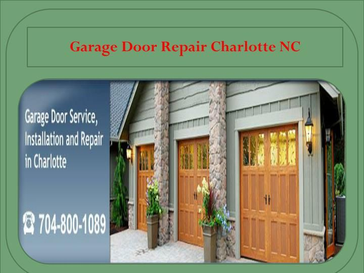 Here at Charlotte Garage Door we believe in giving our customers the best there is to offer in garage doors. We want you to know that we are honest professionals and we only promise great service