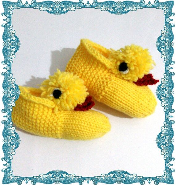 Baby Knitting SlippersHome Footwear Handmade Slippers by SELINCE