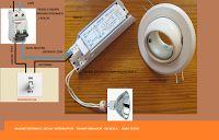 Esquemas eléctricos: ESQUEMA DE LAMPARA DICROICA CON TRAFO-220V/12V-50W...
