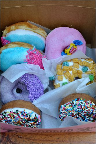 I can't look at this photo for long because it just makes me want to stuff more donuts into my face.