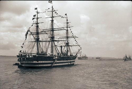 Amerigo Vespucci — Marina Militare #personaggi #nave #fotografia