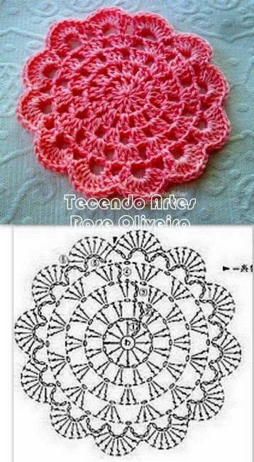 mandala crochet (10)                                                                                                                                                                                 Más