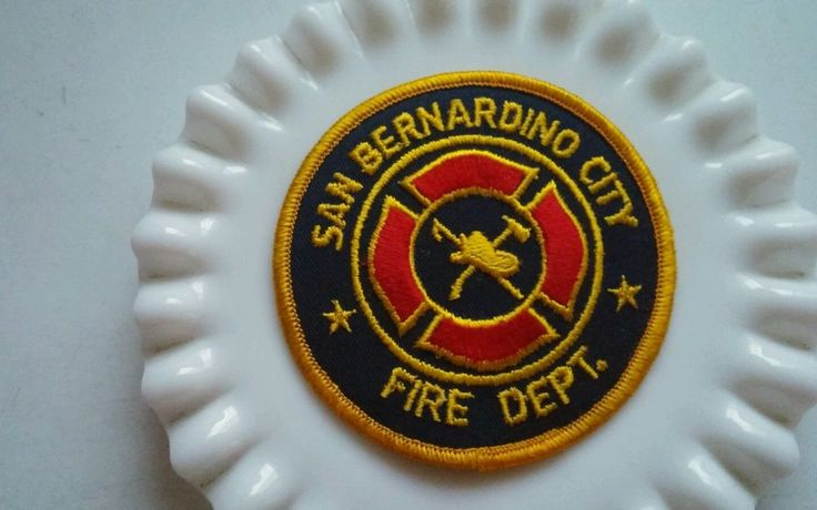 CALIFORNIA - SAN BERNARDINO City FIRE DEPARTMENT PATCH