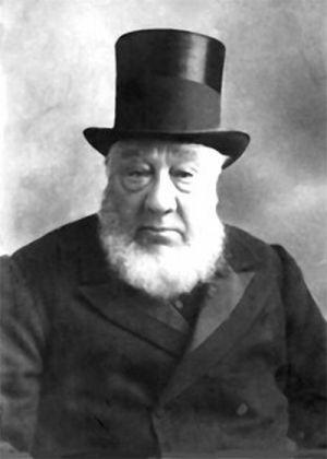 """Stephanus Johannes Paulus Kruger (1825 – 1904), better known as Paul Kruger or """"Oom Paul"""", last President of the Transvaal Republic."""