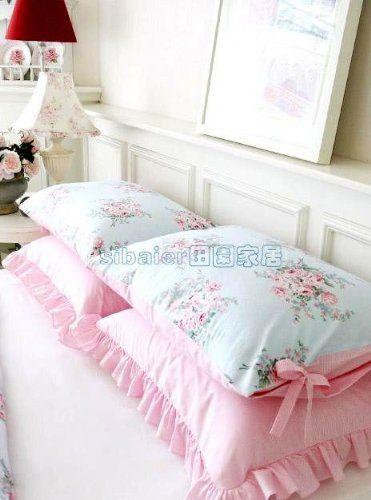 Ivory White Lace Pillowcase
