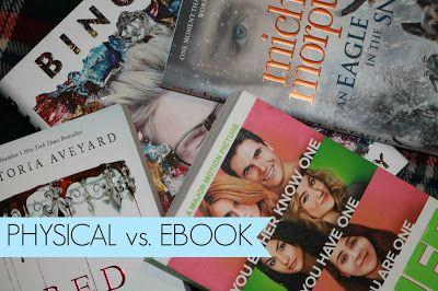 Physical Book Vs. eBook
