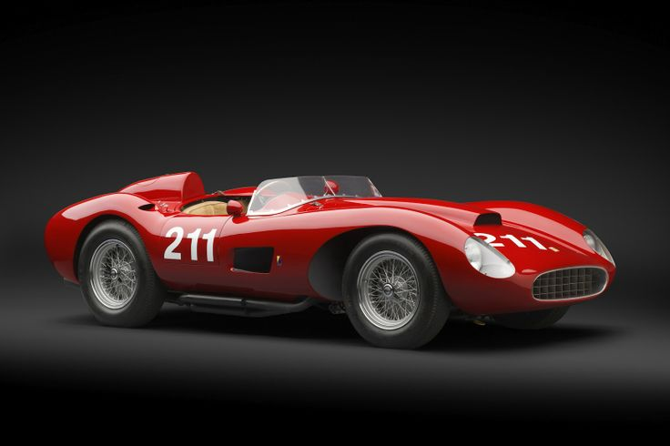 1957 Ferrari 625 TRC Scaglietti Spider. One of only two ever produced.