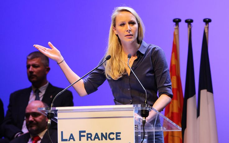 Marion Maréchal-Le Pen: the new wonder-girl of France's far-right http://www.telegraph.co.uk/news/worldnews/europe/france/12035135/Marion-Marechal-Le-Pen-the-new-wonder-girl-of-Frances-far-right.html