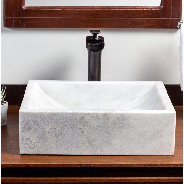 Mar Stone Rectangular Bathroom Sink Rectangular Sink Bathroom
