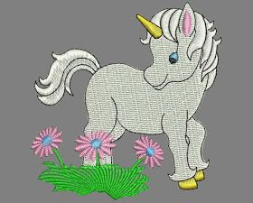 Goede embroidery free download: download Unicorn design machine LY-46