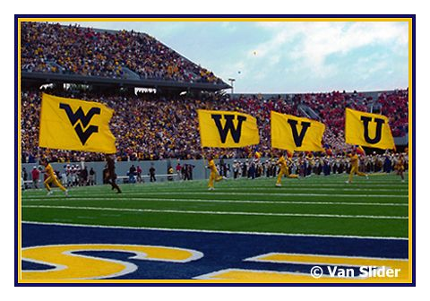 """Greatest feeling in the world is hearing """"Bring on the Mountaineers!"""" and the musket firing as you run out of the tunnel with the crowd in front of you and the team behind you!"""